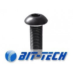 Button head screw M4x08 allen socket