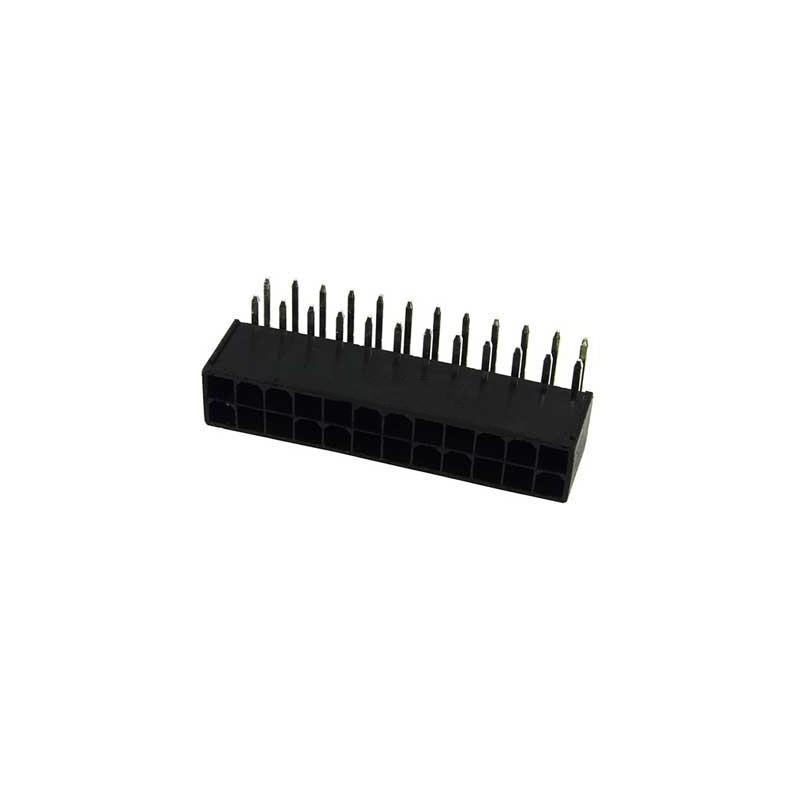 Złącze ATX 24 pin zasilania z płyty głównej do druku