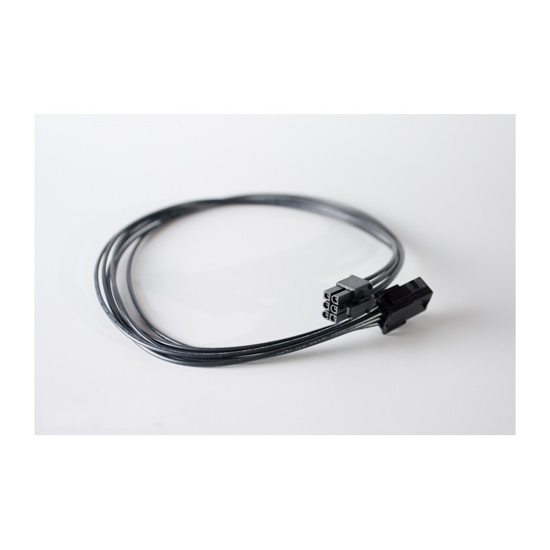 Przedłużka czarna VGA 6 pin, 50 cm standard