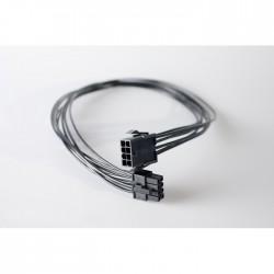 Przedłużka czarna EPS 8 pin, 50 cm standard