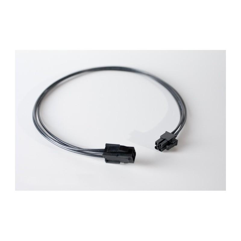 Przedłużka czarna ATX 4 pin, 50 cm standard