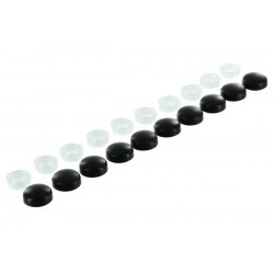 Black cap screws M3-M4