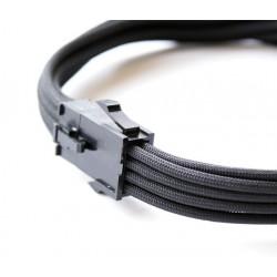 Przedłużka VGA 8 pin, 30 cm, Premium Sleeve || KOLOR DO WYBORU KLIENTA ||