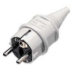 Plug IEC SCHUKO Mennekes...