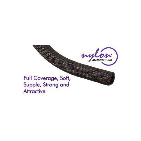 "Techflex Nylon Multifilament black 1/8 """