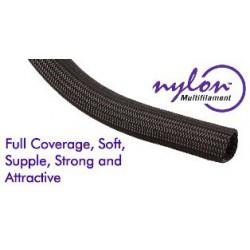 "Techflex Nylon Multifilament black 1/2 """