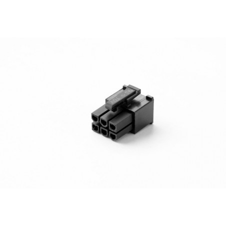 6 pin VGA Female Connector (tapered)