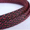 Sleeve black/red 8 mm