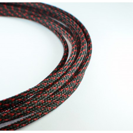 Deluxe SHD sleeve Black/Red 4 mm