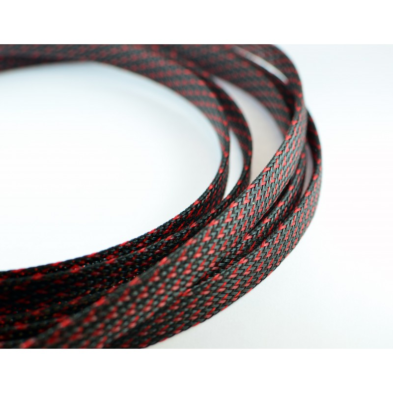 Deluxe SHD sleeve Black/Red 10 mm