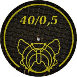 Tarcza tnąca/ściernica do stali i stopów 40mm grubość 0,5mm