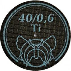 Tarcza tnąca/ściernica do tytanu i tworzyw sztucznych 40mm grubość 0,6mm