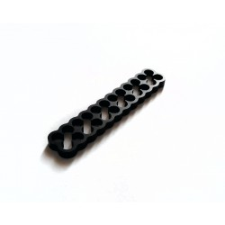 Cable comb ALU-POWER black