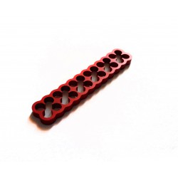 Cable comb ALU-POWER red