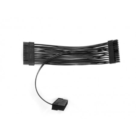 DUAL PSU Dual Power Supply Adapter Cable (Black)