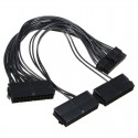 TRIPLE PSU TRIPLE Power Supply Adapter Cable (Black)